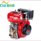 High quality the diesel engine 496cc new hyundai engine competitive price engine cover alternator 186fa