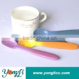 FDA Approval Sensing Baby Silicone Colorful Ice Cream Spoon