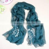 Pure color jersey scarf muslim hijab fashion women scarf