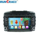 High quality 7inch 2din for kia sportage car audio system/dvd/cd/gps navigation/car multimedia