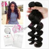 Top Quality Loose Wave Virgin Brazilian Hair 100% Virgin Original Natural Human Hair Weave