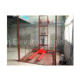 Material Elevator Lifts With Door Machine Digital Switch System