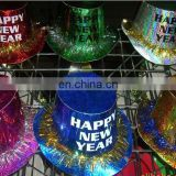 shining paper hat for happy new year