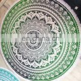 indian mandala tapestry round table cover