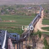 high temperature belt conveyor pipe conveyor custom conveyor