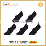 simple anti-slip ankle black men sock run wholesale custom men sock