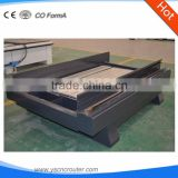 Plastic cnc router machine of stone made in China 1300mm*2500mm stone carving machine peice