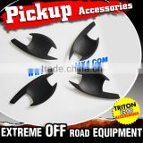 Wholesales Price 2015 Mitsubishi Sportero Triton L200 Matte Black Car Door Handle Bowl Cover