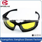 Ballistic Polarized UV400 Protective Motorcross Driving Sunglass HD Night Vision Shooting Glasses