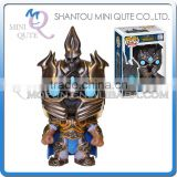 Mini Qute Funko Pop WOW Arthas Game boys gift super hero action figures cartoon models educational toy NO.FP 15