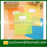 Factory price a4 size clear eco-friendly plastic file with card holder                                                                         Quality Choice
