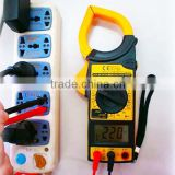 Electrical current digital ac/dc clamp meter