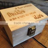 New product:Personalised Wooden Keepsake Box Jewellery Gift Box                                                                         Quality Choice