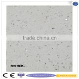 white natural mirror fleck quartz stone countertop