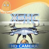2016 newest 2mp HD camera syma drone X5HC with barometer height