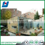 Prefab house use eps foam sandwich panel for roof and wall container house