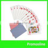 Hot Sell custom promotion gold plated playing card