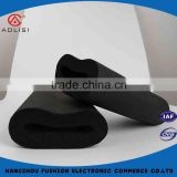 Black color neoprene good quality rubber insulation foam tube