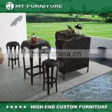 rattan outdoor furniture china bar chair stool counter set