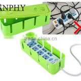 AN628 ANPHY Moveable Plastic Power Strip Storage Box With Cooler For Safety                                                                         Quality Choice