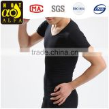 men's black slim fit t shirts bulk, mens slim fit t shirt gym t-shirtY60