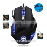 6D 2000DPI USB 2.0 Wired Optical Game Mouse PC Mouse Laptop Mouse