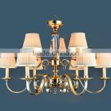 good quality brass pendant lamp classical for hotel