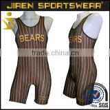 Hot selling wholesale sports clothing professional OEM Sublimation wrestling singlet sexy women wrestling singlet