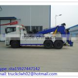CHINA recovery <b>truck</b>, <b>rear</b> two <b>axle</b>s DONGFENG <b>heavy</b> recovery <b>truck</b>s for sale