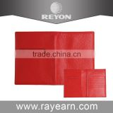 Fashion travel ticket card pouch leather passport holder