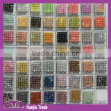 Jewelry accessories resin rhinestone 120 * 45 cm hot fix resin rhinestone mesh