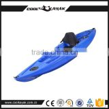 Cheap single plastic fishing kayak for sale promotion of Halloween