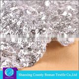 China supplier New style Wholesale Embroidery sequin fabric for dresses                                                                         Quality Choice