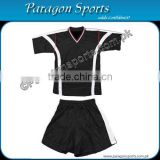 Black and White Soccer Uniform