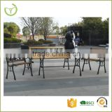 All-weather suitable 4 pcs outdoor patio garden park bench set/antique cast iron park bench                                                                         Quality Choice