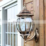 Pumpkin in antique european-style outdoor wall lamp waterproof courtyard high-grade villas terrace wall lamp                                                                         Quality Choice