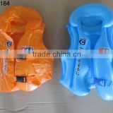 Promotional gifts summer swimming wear ,Inflatable life-vest/inflatable kid's swim wear