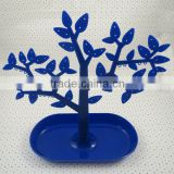 Detachable plastic jewelry display tree stand jewelry displayer