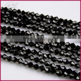 black crystal bead curtain trim