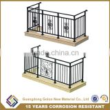 Indoor child safety metal fence panels for balcony