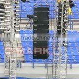 C-mark line array sound system LND32A speaker lift truss system
