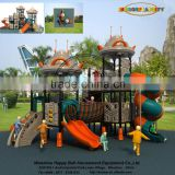 UV-Anti Kids Plastic Games Cheap Plastic Slide Outdoor Playground for Amusement Park