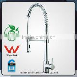 stainless steel kitchen Veggie Spring pull down kitchen faucet Mixer Tap with watermark BC52