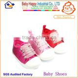 Wholesale fashion design pink sequin soft sole baby girl sneaker shoes