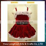 Top quality christmas performance costume cute baby dance dress costume