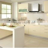 aluminium kitchen cabinet,Modern Brushed Metal UV Board kitchen cabinet                                                                         Quality Choice