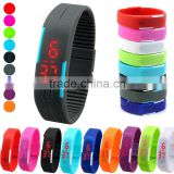 Hot Selling Fashion Sport USB Silicone Wristband Watch