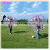 Top selling!!! Cheap inflatable bubble soccer bumper ball, bubble bump football, inflatable knocker ball