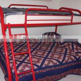 2015 hot sell promotion red color bunk bed