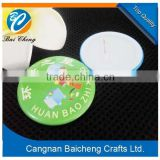 no moq free sample tin button badge with safety pin maker in China with cheap price and top quality for students and volunteers